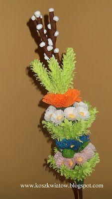 Kosz Kwiatów...: Palma wielkanocna