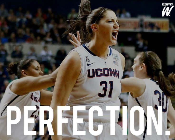 """40-0 season. """"PERFECT"""" sounds about right. UConn Women's Basketball, 2014 NATIONAL CHAMPS."""