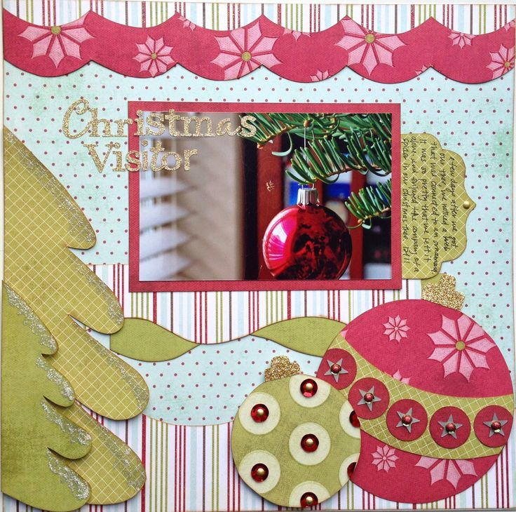 GLOworm Designs: Christmas Visitor Layout with Kiwi Lane (Abbie Road 3 A; Mini Abbie Road 3 A & B; Cedar Trails 1 A; Winter 3; Christmas 1, 4; Tiny Holiday 8; Tiny Bracket 1)