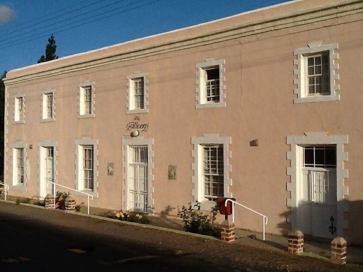 Old architecture in Barrydale