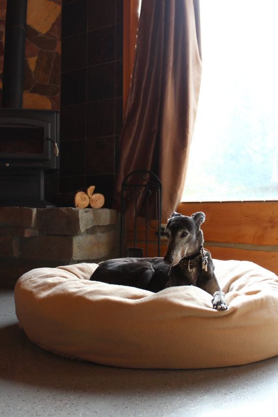 The CuddleBed Xtra Large Greyhounds LOVE Me by HopeSpringsPetBeds, $139.00