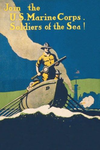 Man Cave Artwork: Soldiers, Posters American, Corps Recruitment, Recruitment Posters, Corps Posters, Fascinators History, Art Posters, The Sea, Marines Corps