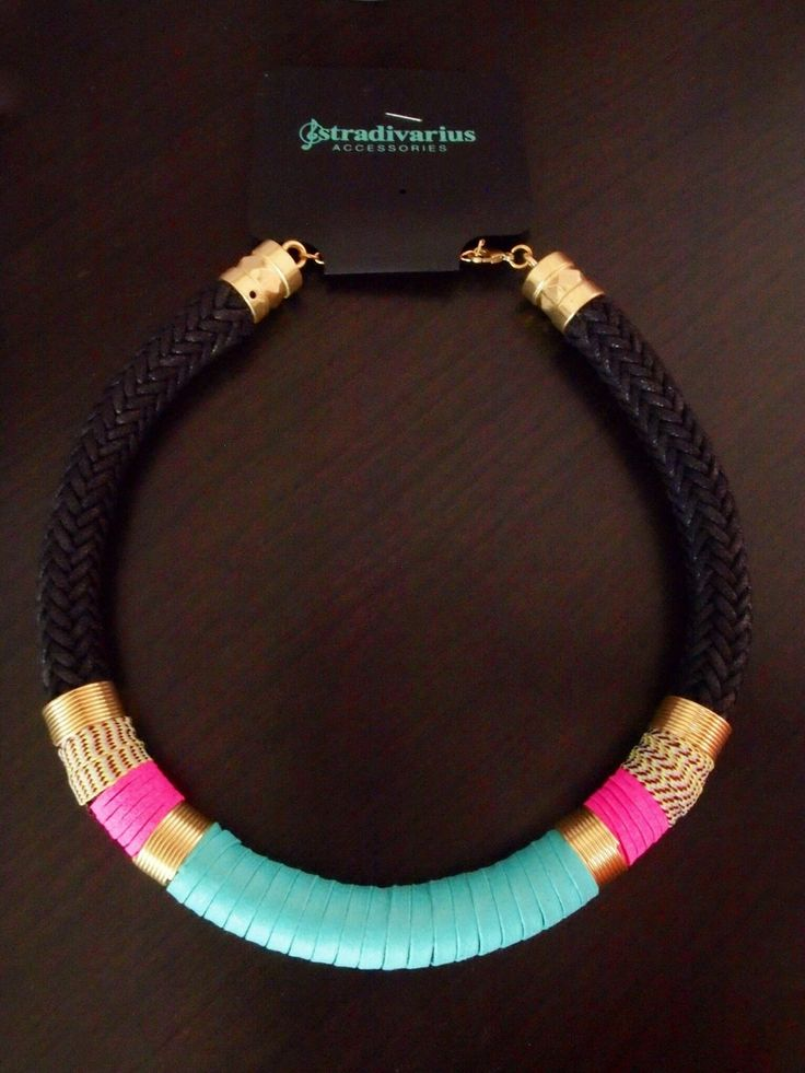 Stradivarius Inditex Zara Company Ethnic Cord Necklace Ref 09601004 | eBay 35$