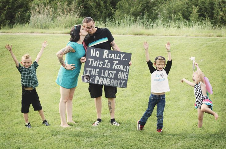 Probably the last one maybe BABY Announcing our 4th baby on – Baby on the Way Announcement