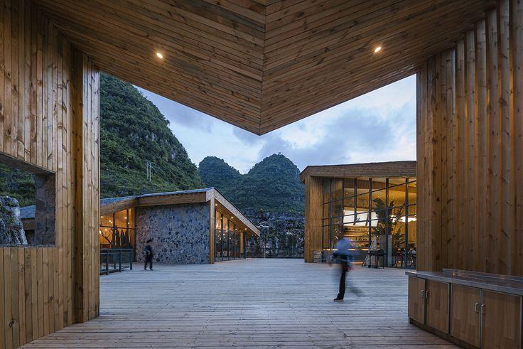 Gallery of Tourist Center of Anlong Limestone Resort / 3andwich Design / He Wei Studio - 1