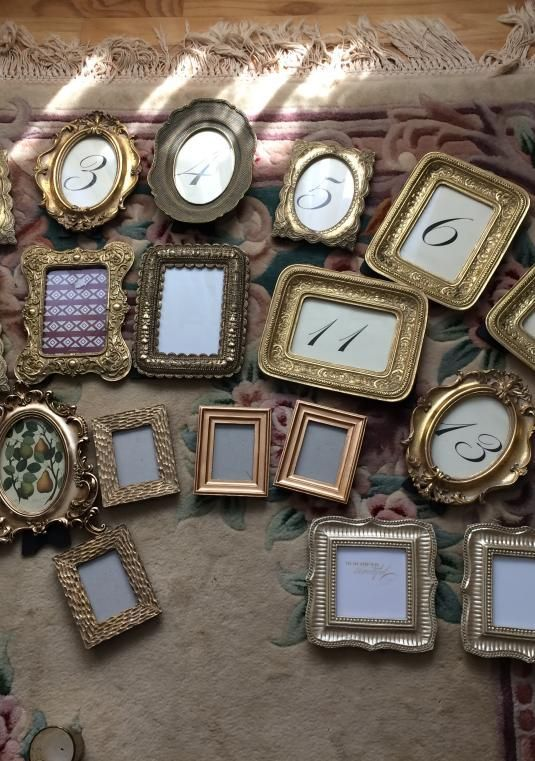 Gold Baroque Style/antique Frames | Wedding Decoration | Size | Only $83.00