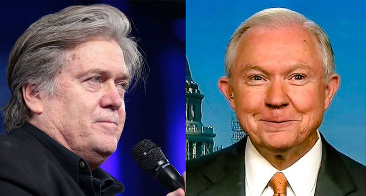 Steve Bannon recruited Jeff Sessions to run as anti-immigrant candidate before backing Trump: report