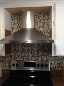 1000 ideas about microwave hood on pinterest home - How to vent a microwave on an interior wall ...