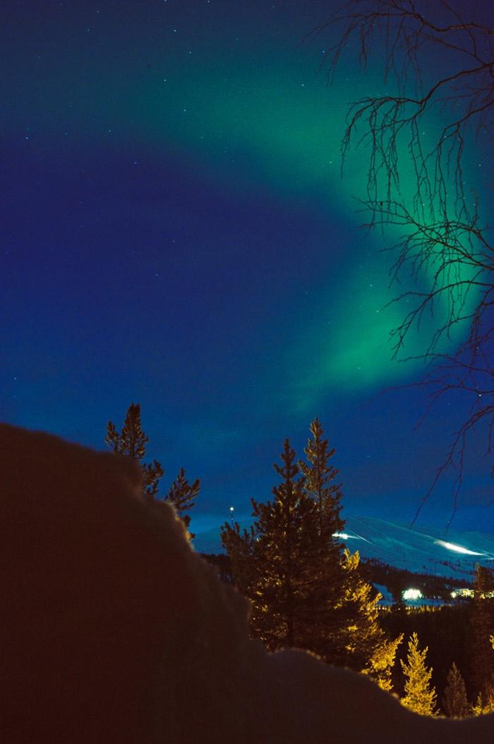 aurora borealis / johannahietanen.com / Ylläs, Lapland, Finland