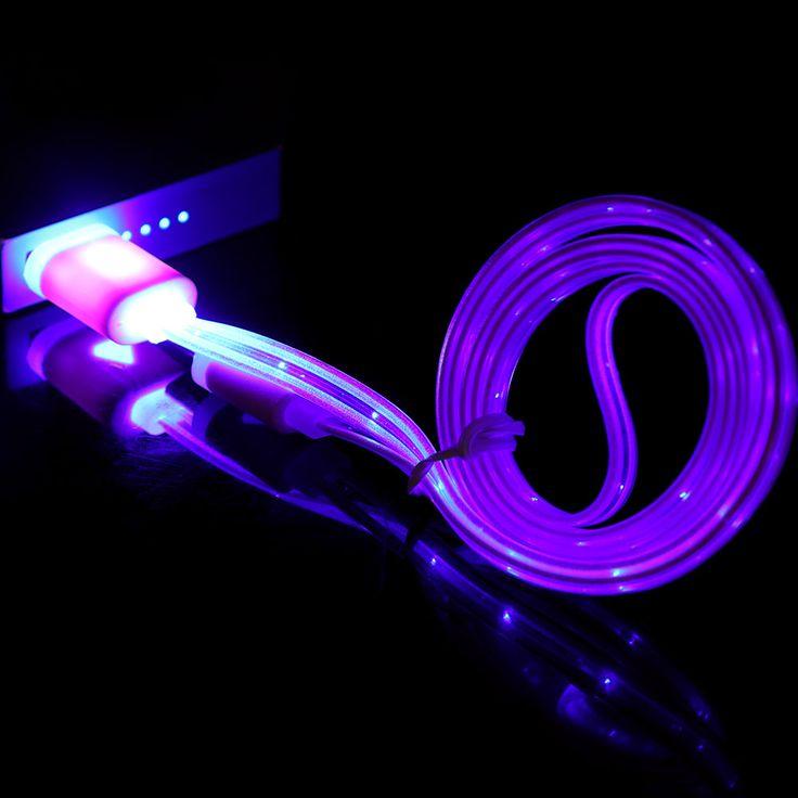 1 PC LED String Światła Drutu DOPROWADZIŁY Światła Widzialnego Ładowarka Micro USB kabel do Transmisji Danych Sync dla Android Inteligentny Telefon Złącze Zestawy Narzędzi Ręcznych