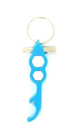 Porte Clés avec Clé à Ecrou Bleu