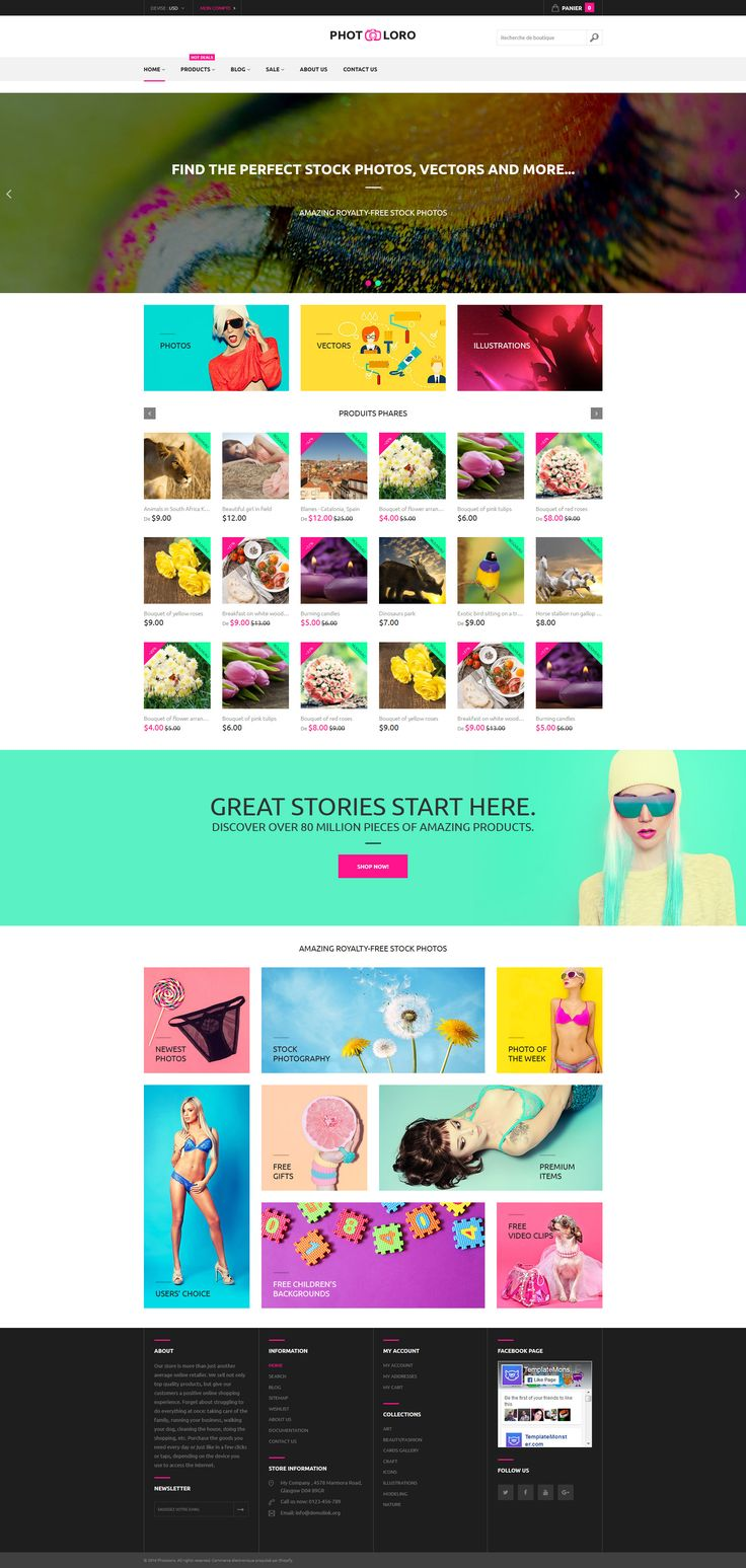 Stock Photo Shopify Theme http://www.templatemonster.com/shopify-themes/photoloro-shopify-theme-61209.html for photographers