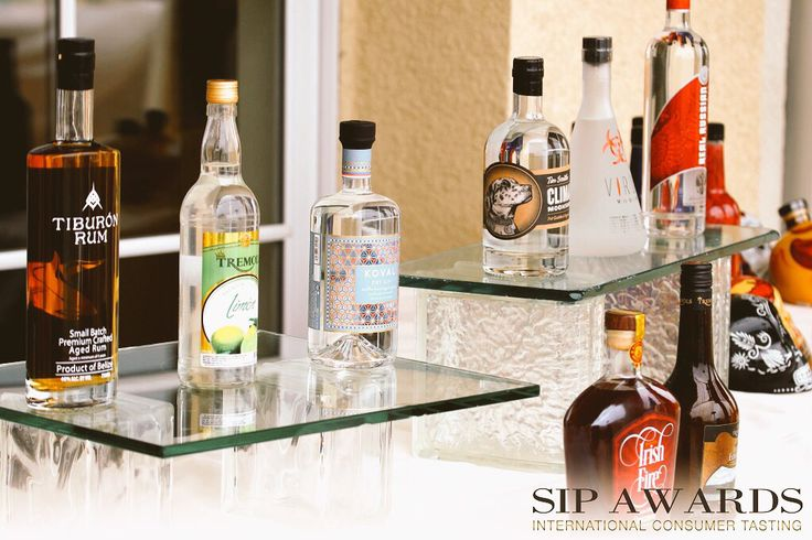 Tiburon rum at the 2015 SIP awards where we won 2 Gold Medals!!