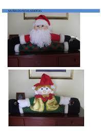 Resultado de imagen para moldes muñecos navidad