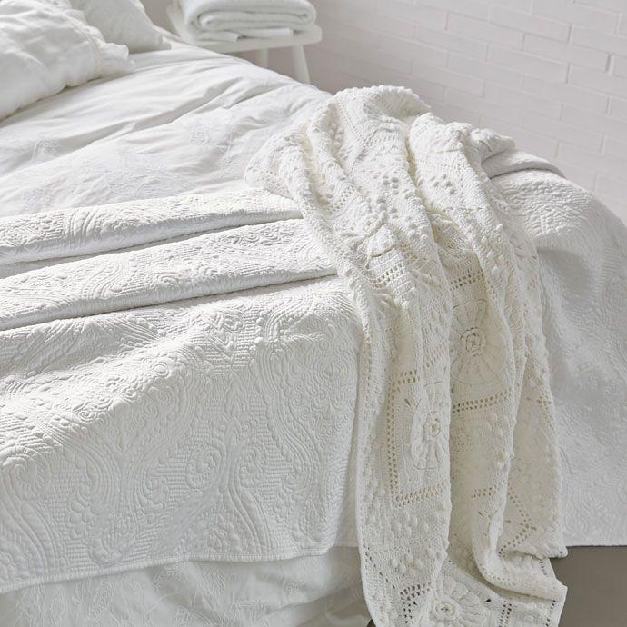 KROŞE PAMUKLU BATTANİYE - Battaniyeler - Yatak Odası | Zara Home Turquia