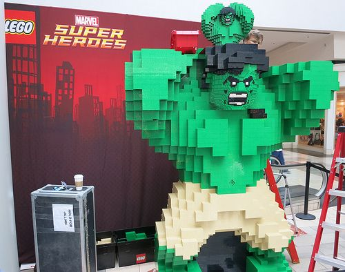 LEGO Building Event - Marvel Superheroes Incredible Hulk