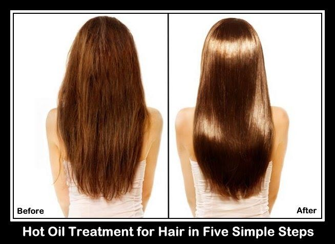 Hot Oil Treatment for Hair in Five Simple Steps