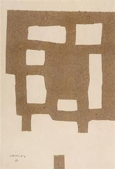 Eduardo Chillida: Collage beige