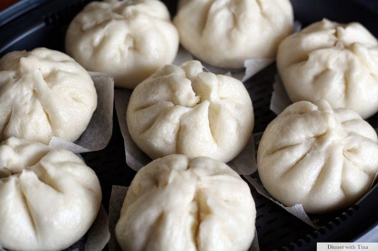 Char Siew baos (Chinese pork buns) ~ Dinner with Tina