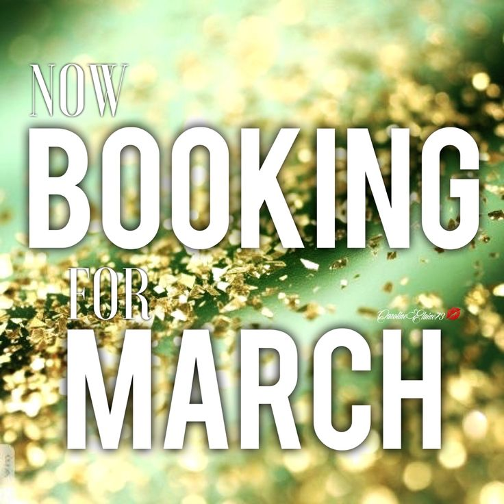 Appointments available.  Book Now Openings.  Salon appointments.  Now Booking