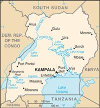 Uganda Map I love travelling. Good info at http://ezetravel.net