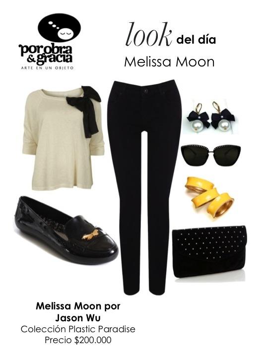 Melissa Moon por Jason Wu.   Colección Plastic Paradise. Otoño/Invierno 2012.   Precio: $200.000 COP