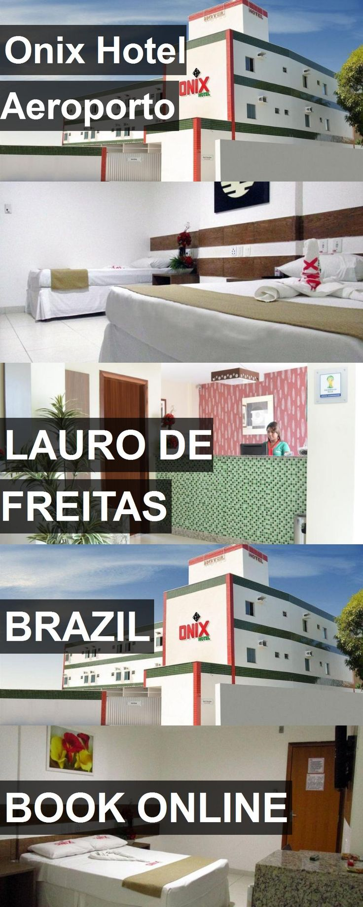 Onix Hotel Aeroporto in Lauro de Freitas, Brazil. For more information, photos, reviews and best prices please follow the link. #Brazil #LaurodeFreitas #travel #vacation #hotel