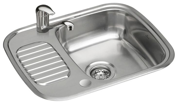 An ideal solution to a small sink that has a resting area for a few cups, mugs or side plates.  It compact design and size means it ideal for small kitchens, utility rooms.  We have even supplied to motorhomes, caravan and boat builders! The Reginox RL226S is high quality 18/10 steel and comes with a Reginox 10 year guarantee