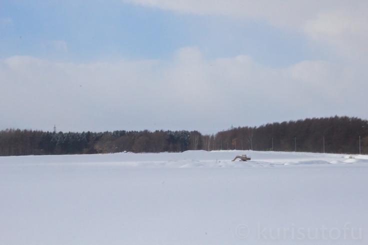 hokkaido under the snow