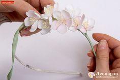 Ободок из фоамирана «Яблоневый цвет» -   Уроки творчества   Леонардо хобби-гипермаркет - сделай своими руками