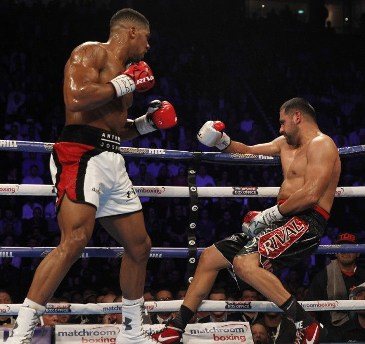 Anthony Joshua takes out Eric Molina in three - Ring News 24