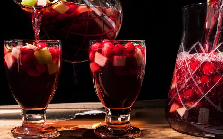 how to make sangria with rose