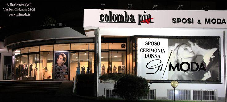 Gilmoda si trova All'interno del Centro Sposi Colomba Più