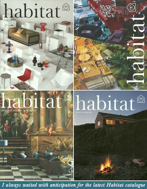 Habitat, an iconic British furniture brand and once influential player in the design market. Founded by Sir Terrance Conran in 1964, Habitat was a glamorous and stylish – the place to be seen to be shopping.