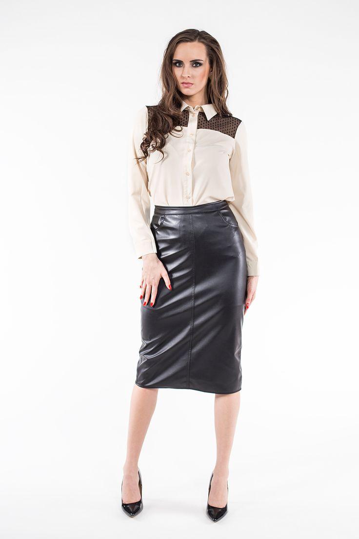 Spódnica ołówkowa SL6072 www.fajne-sukienki.pl