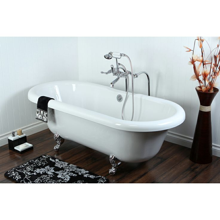 115 best ideas about clawfoot tubs and hardware on for Best acrylic tub