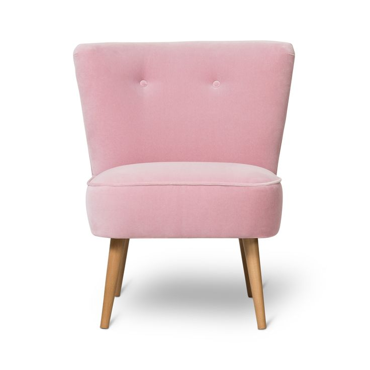 Buy the Pale Rose Le Cocktail Velvet Chair at Oliver Bonas. We deliver Furniture throughout the UK within 5-12 working days from £35.
