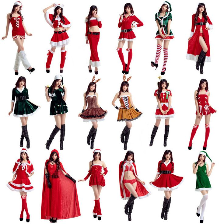 20 Styles of Women Santa Claus Costumes //Price: $37.50 & FREE Shipping //     }