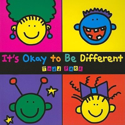 It's Okay to be Different, Todd Parr - Shop Online for Books in Australia
