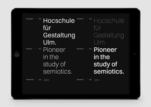 Artiva Design / Volkart / Digital Specimen / Typeface / 2015