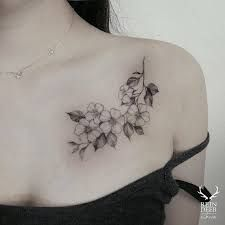 Image result for small chest tattoos for females