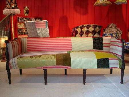 colorful vintage furniture