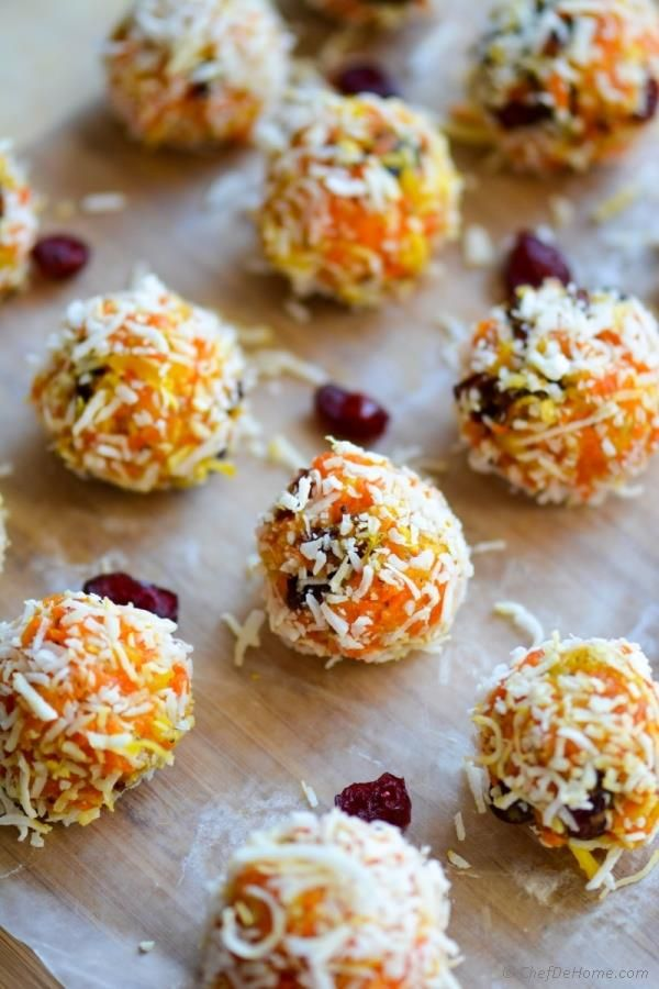 Carrot Halwa and Coconut Ladoos