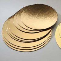Подложка двухсторонняя золото, серебро
