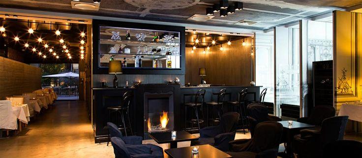 The Blind Bar at La Maison Champs Elysees, a 5-star Paris luxury hotel.  www.lamaisonchampselysees.com