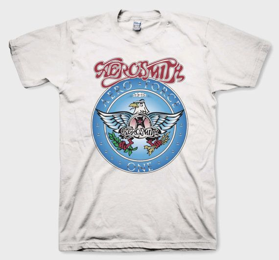 Wayne's World Garth Aerosmith T-shirt Halloween Costume White Shirt Youth Adult sizes S-3XL