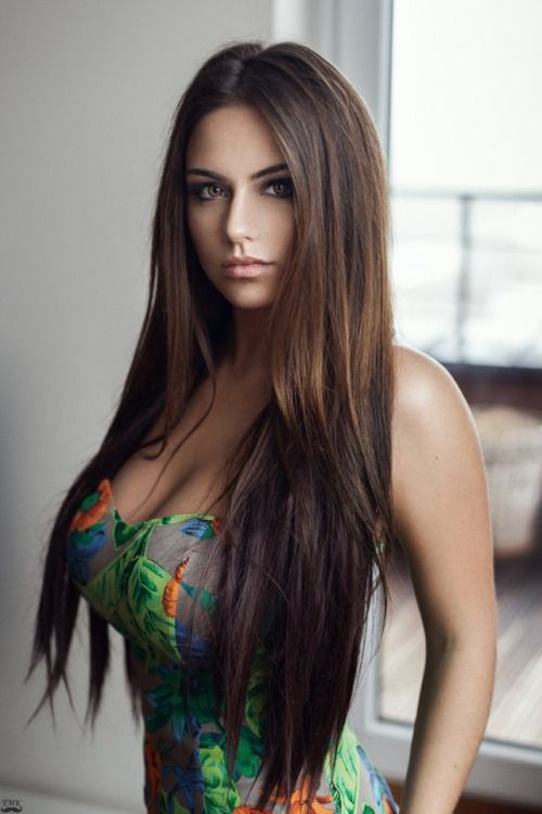 Brunette Hairstyles Fair 27 Best Long Brunette Hairstyles Images On Pinterest  Long Brunette