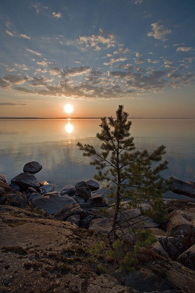 Lake Sunset Kauppi Tampere Finland 7524