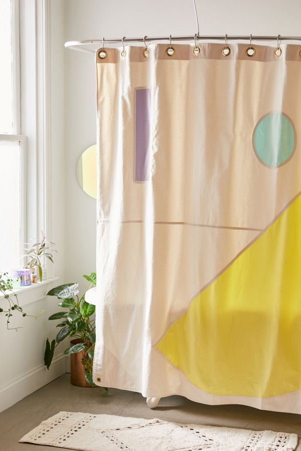 Quiet Town Beacon Modern Shower Curtain Modern Shower Modern