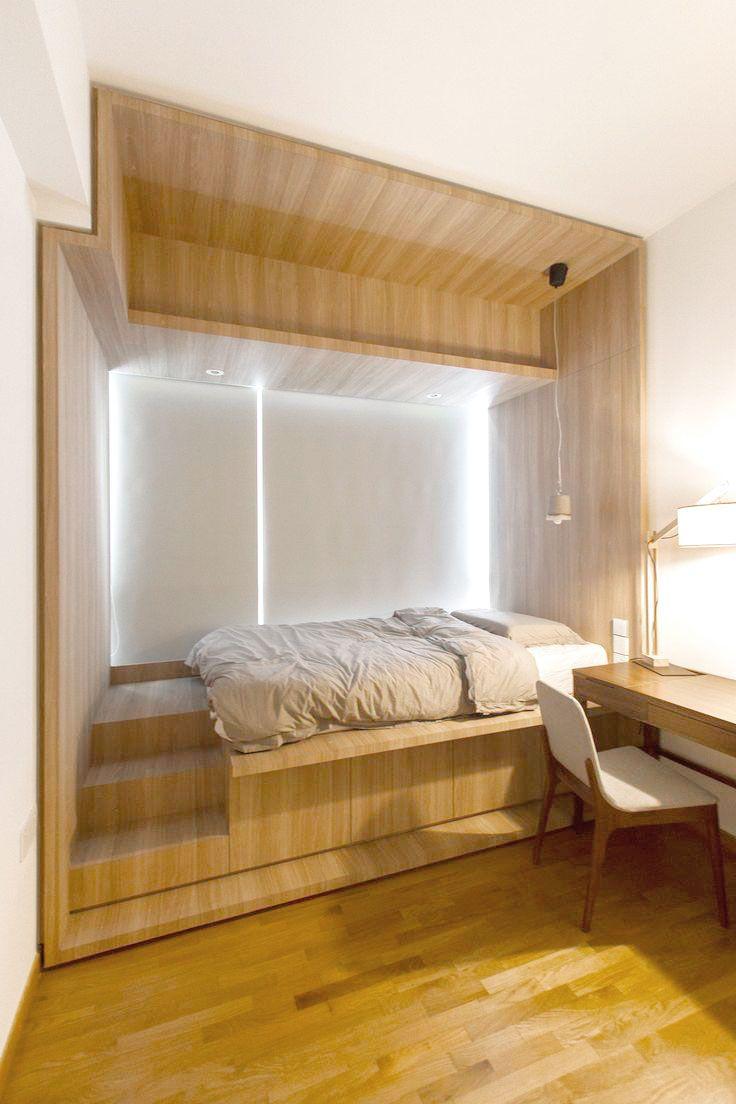 Platform Bed Small Master Bedroom Platform Bed Designs Small